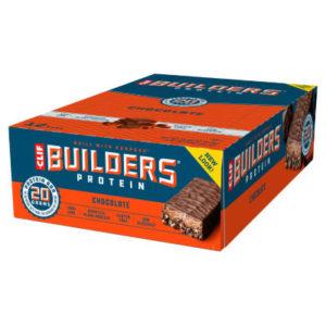Clif Bar - Builder's Bar - Packung mit 12 Riegeln zu je 68 g - Riegel