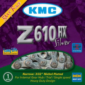 KMC - Z610 HX Kette Silber - Ketten