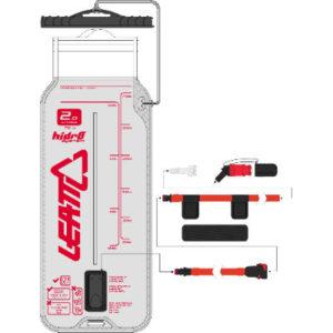 Leatt Bladder Flat CleanTech 0.75L (25oz) w tube and bit - Ersatzteile für Trinksysteme