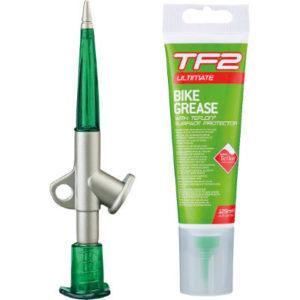 Weldtite TF2 Fettpresse mit Teflon Fahrradfett - Schmierfett