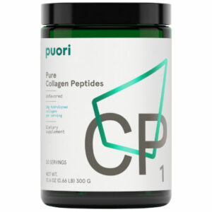 Puori CP1 - Pure Collagen Peptides (300g) - Vitaminpulver